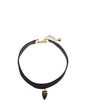 Vanessa Mooney - The Black Onyx Stone Choker Necklace