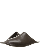 a. testoni - Leather Cashmere Lined Slipper
