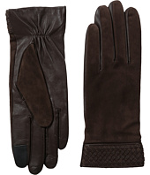 Cole Haan - Braided Cuff Suede Gloves with Tech