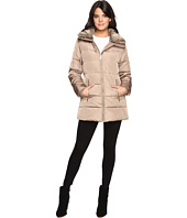 MICHAEL Michael Kors - Zip Front Faux Fur Collar Down M821319T
