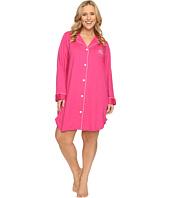LAUREN Ralph Lauren - Plus Size Classic Notch Collar Sleepshirt