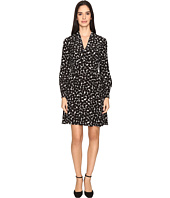 Kate Spade New York - Blot Dot V-Neck Dress