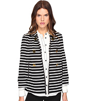 Kate Spade New York - Stripe Peacoat