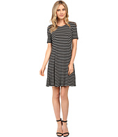 Culture Phit - Elenor Striped Short Sleeve Dress
