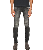 Pierre Balmain - Classic Distressed Biker Jeans