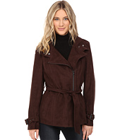Kenneth Cole New York - Belted Suede Biker Jacket
