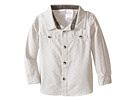 Shirt with Mini Yardage and Faux Suede Trim (Infant)