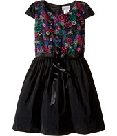Us Angels - Cap Sleeve Embroidered Bodice & Full Skirt (Big Kids)