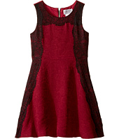 Us Angels - Sleeveless A-line Dress w/ Lace Trim (Big Kids)