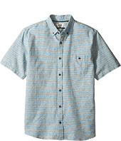 VISSLA Kids - Twins Short Sleeve Woven (Big Kids)