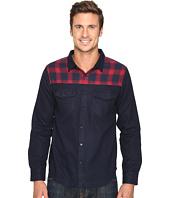 United By Blue - Banff Wool Shirt with Plaid Trim