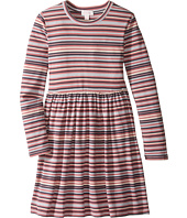 Pumpkin Patch Kids - Striped Rib Dress (Little Kids/Big Kids)