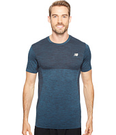 New Balance - M4M Seamless Short Sleeve Top