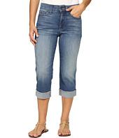 NYDJ Petite - Petite Ariel Crop Jeans w/ Frayed Cuff in Istanbul