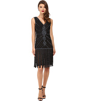 Unique Vintage - Deco Beaded Aelita Flapper Dress
