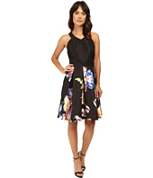 Ted Baker - Illusia V-Neck Inverted Pleat Dress