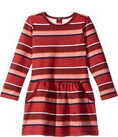 Pumpkin Patch Kids - Stripe Fleece Dress (Infant/Toddler/Little Kids/Big Kids)