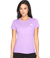 New Balance - Heathered Short Sleeve Tee