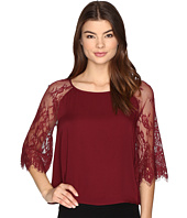 BB Dakota - Golding Lace Detailed Top