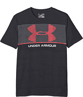 Under Armour Kids - Chest Stripe Short Sleeve Tee (Big Kids)