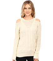 Brigitte Bailey - French Cut Cable Knit Sweater