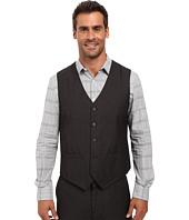 Perry Ellis - Tonal Micro Check Suit Vest