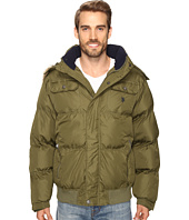 U.S. POLO ASSN. - Short Snorkel Jacket with Faux Fur Hood