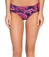 Tommy Bahama - Jacobean Floral High-Waist Side-Shirred Bikini Bottom