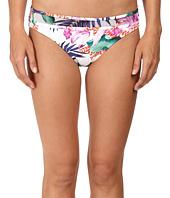 Tommy Bahama - Orchid Canopy Mesh-Overlay Hipster Bikini Bottom