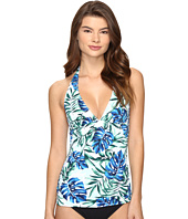 Tommy Bahama - Fronds Floating Reversible Halter Tankini