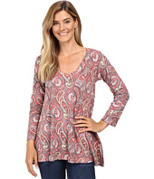 Nally & Millie - Red Paisley Tunic