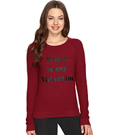 P.J. Salvage - Wine Is My Valentine Sweatshirt