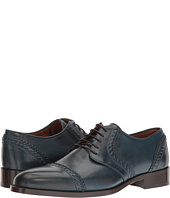 Etro - Whipstitch Cap Toe Blucher