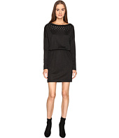 Just Cavalli - Jersey Boat Neck Long Sleeve Dress