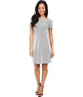 MICHAEL Michael Kors - Digital Texture Fit and Flare Dress