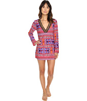 La Blanca - Global Perspective V-Neck Tunic Cover-Up