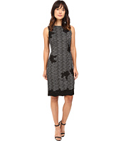 Taylor - Knit Jacquard Sheath Dress
