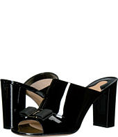 Salvatore Ferragamo - Patent Leather Slip On Mule
