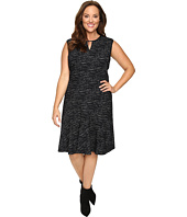 NIC+ZOE - Plus Size Tweed Jacquard Dress