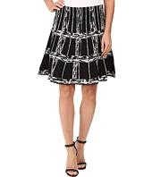 NIC+ZOE - Windowpane Twirl Skirt