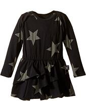 Nununu - Super Soft Star Print Dress with One-Piece Skirt (Infant)