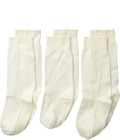 Jefferies Socks - High Class Nylon Knee High Socks 3-Pair Pack (Infant/Toddler/Little Kid)