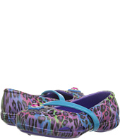 Crocs Kids - Lina Graphic Flat (Toddler/Little Kid)