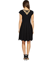 Hale Bob - Piece of Work Knit Stretch Jacquard Fit and Flare Dress