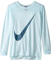 Nike Kids - Sportswear Long Sleeve Graphic Top (Little Kids/Big Kids)
