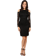 Laundry by Shelli Segal - Cold Shoulder Lace Dress