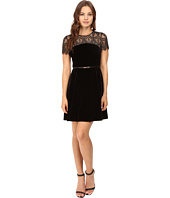Jessica Simpson - Lace and Velvet Combo Dress