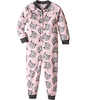 P.J. Salvage Kids - Meow or Never Cat One-Piece Pajama (Toddler/Little Kids/Big Kids)