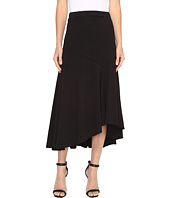 Mod-o-doc - Classic Jersey Hi-Low Asymmetrical Seamed Skirt