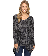 Nally & Millie - Navy Floral Print Tunic